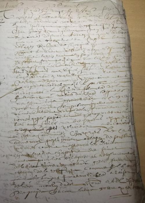 Haulteborne à Ecques 1682